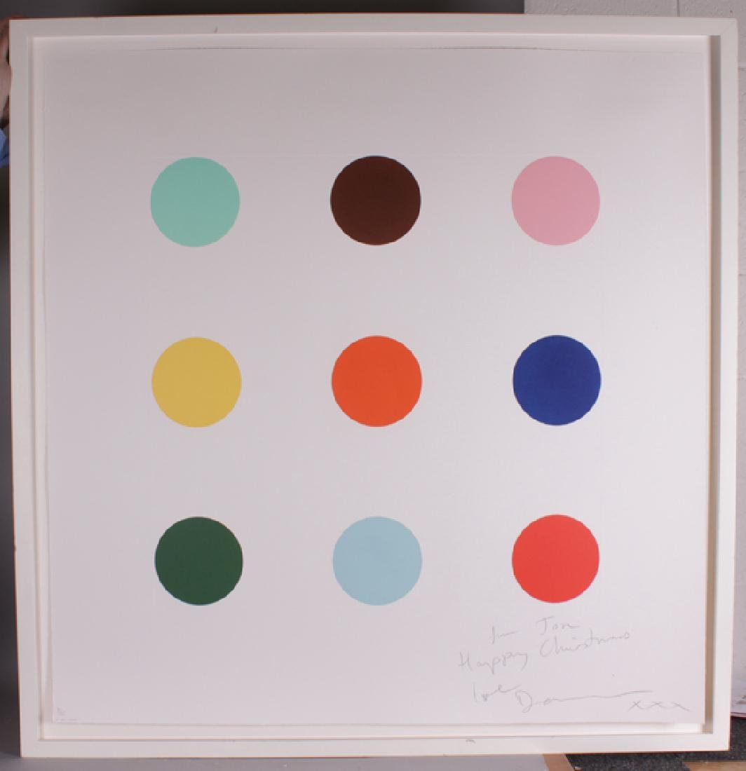 "Damien Hirst (1965-    ) British. ""Quene 1-AM"" (2004), - 2"