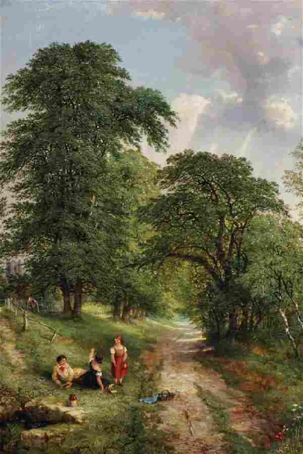 Henry William Banks Davis (1833-1914) British. A Rest