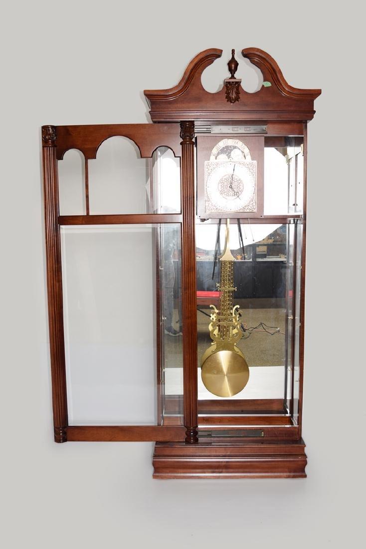 An Extra Large Closet Style Pendulum Grandfather Clock - 2