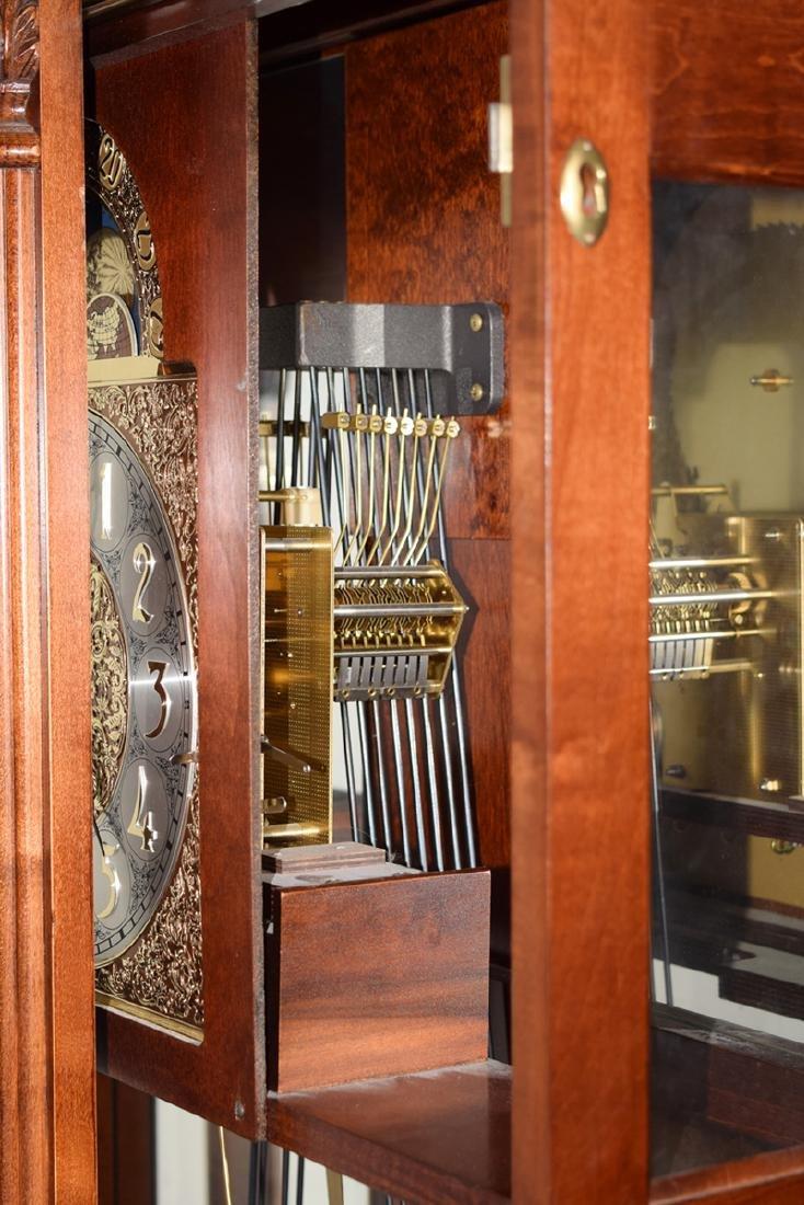 An Extra Large Closet Style Pendulum Grandfather Clock - 3