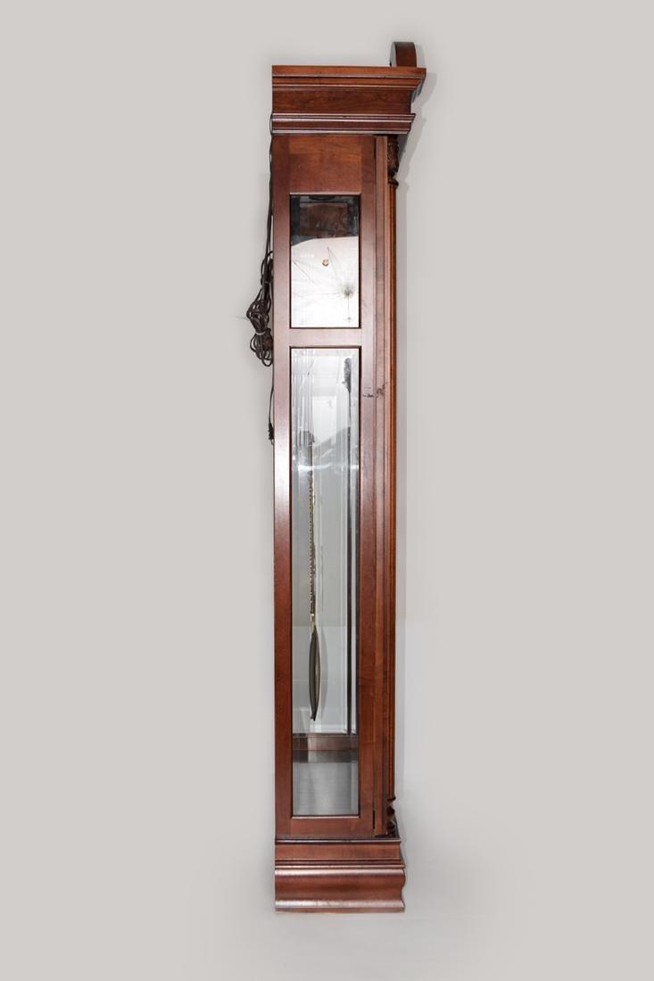 An Extra Large Closet Style Pendulum Grandfather Clock - 4