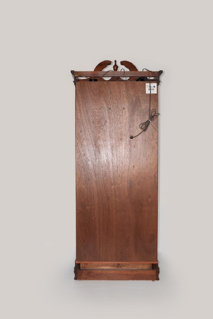 An Extra Large Closet Style Pendulum Grandfather Clock - 5
