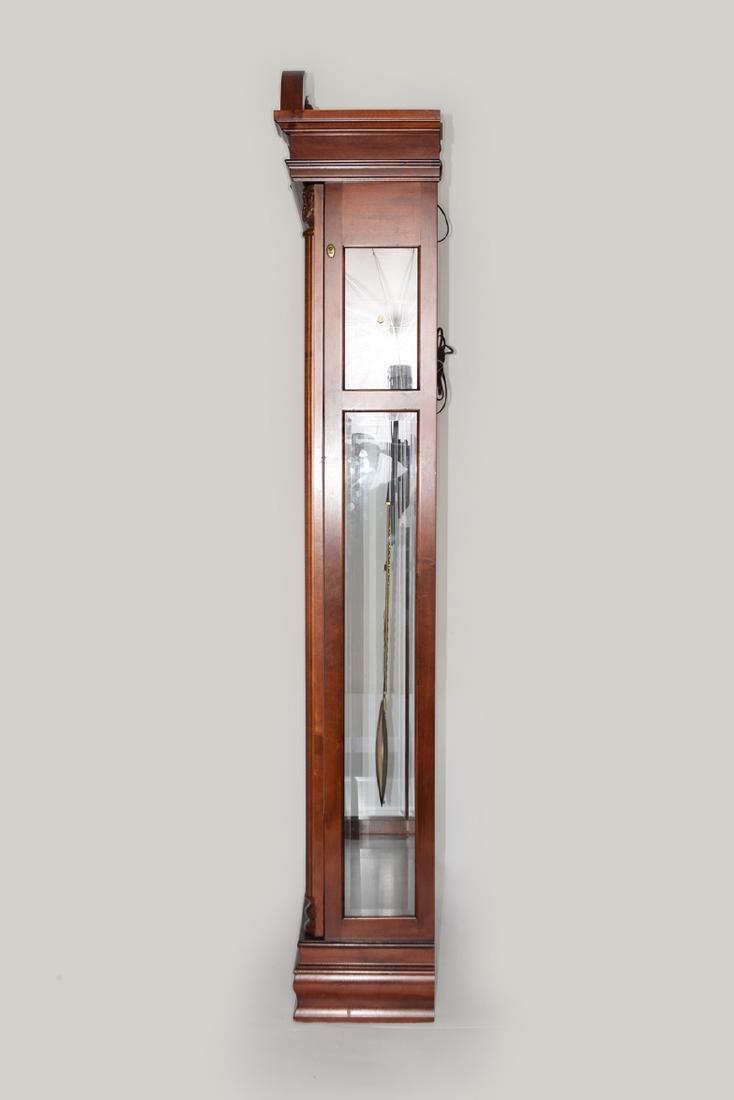 An Extra Large Closet Style Pendulum Grandfather Clock - 6