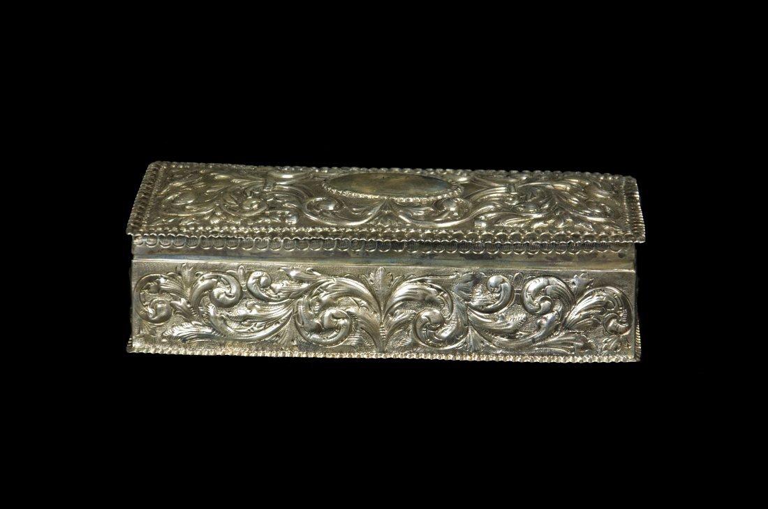 Victoria Style Sliver Jewelry boxes