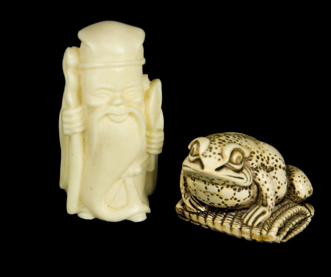 Longevity God and Toad Small Accessories (Pair)
