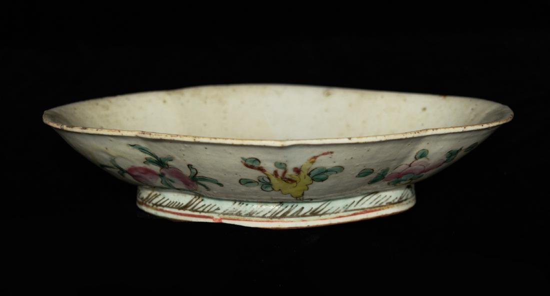 A Republic Era Chinese Famille Rose Porcelain Plate