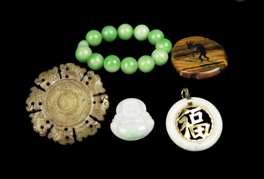 A Set of Assorted Jade Pieces