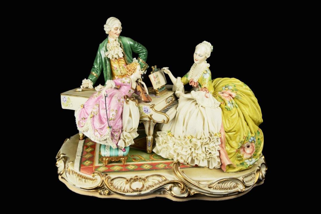 An Italian Principe Hand Made Porcelain Figurine