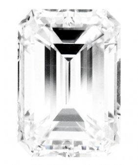 1.02 Ct Emerald Cut Diamond H-si2 Gia Certified