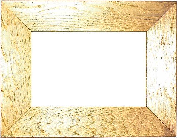 2: American, 19th Century, gold on oak frame 8¾ x 11¾ x