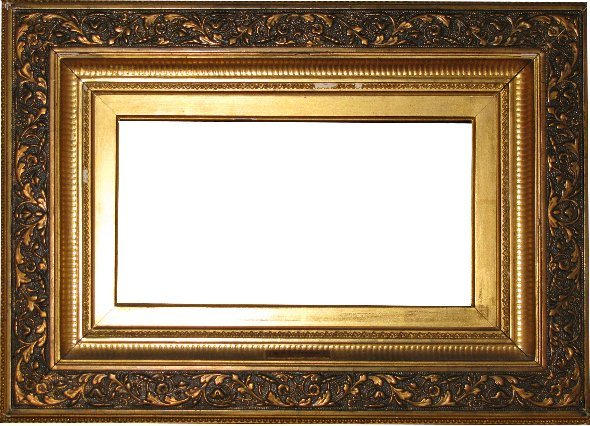 10: American, 19th Century, applied ornament and gilded