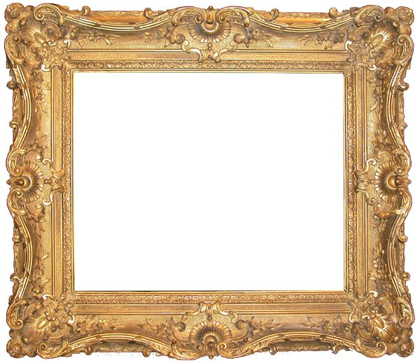 147: French, 19th Century, applied ornament & gilded fr