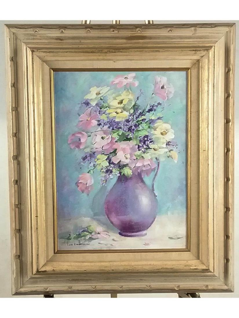 Lor Kaufmann Still Life with Flowers Painting