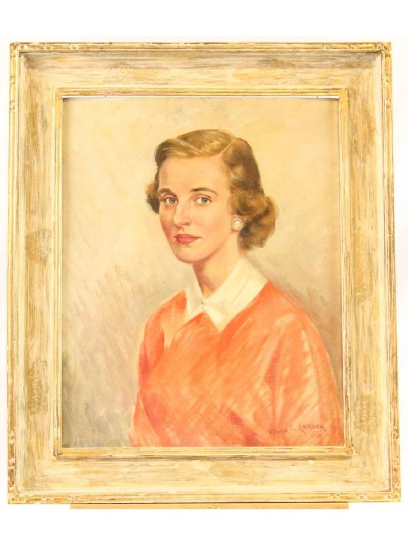 Portrait of a Woman by Frank Lackner