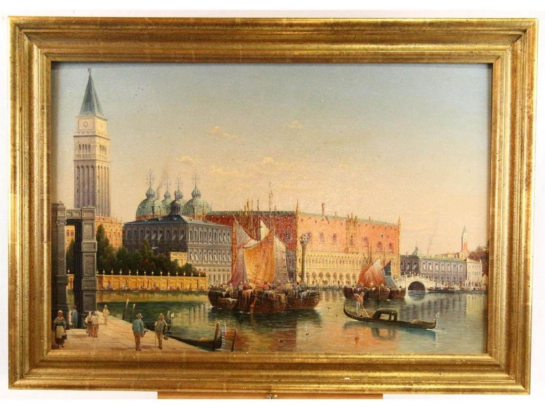 St. Marks Square in Venice by Unknown Artist