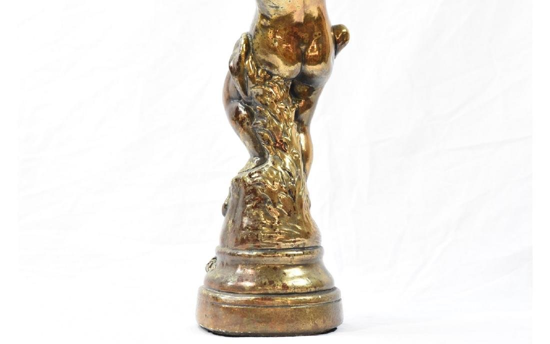 Contemporary Painted Plaster Figure - 5