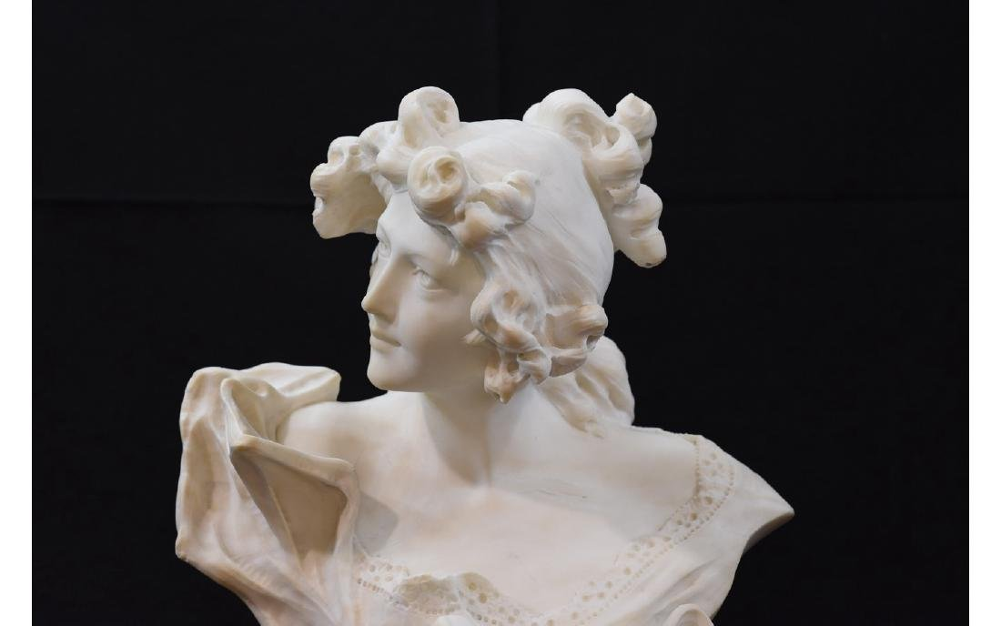 Z. Cipriani Carved Marble Sculpture - 2