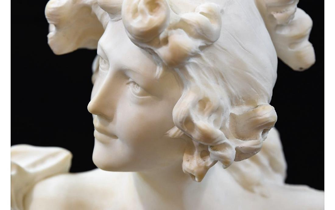 Z. Cipriani Carved Marble Sculpture - 5