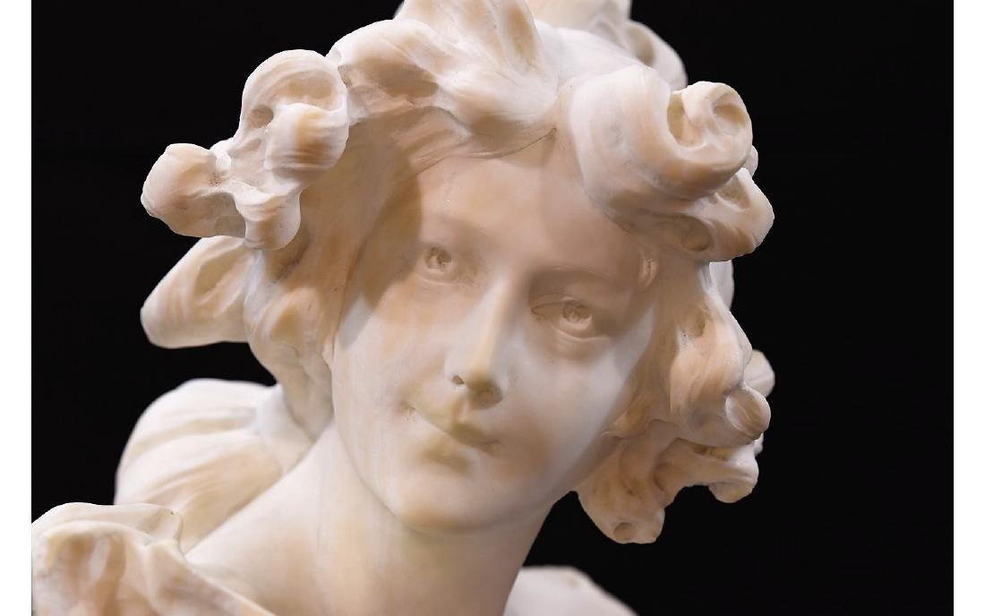 Z. Cipriani Carved Marble Sculpture - 8