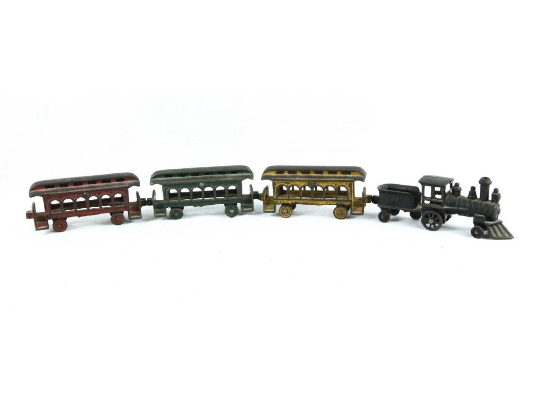 Cast Iron Toy Train