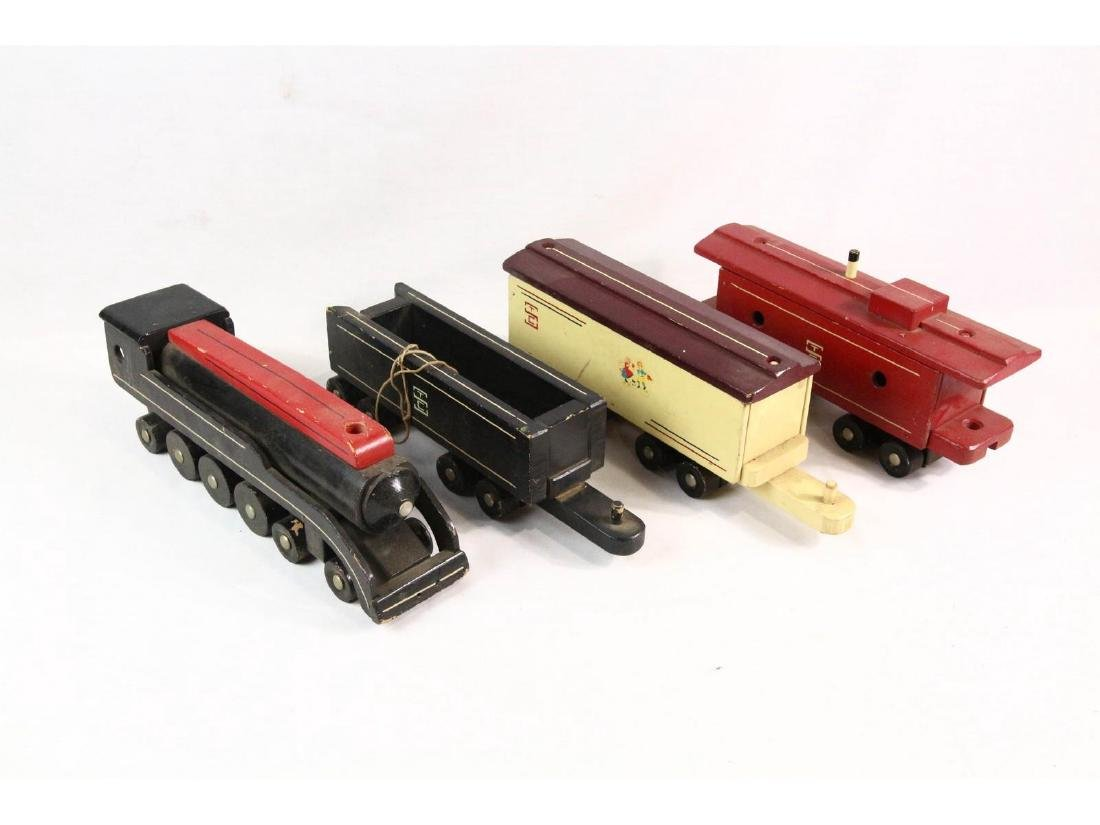 Seaver Wooden Toy Train