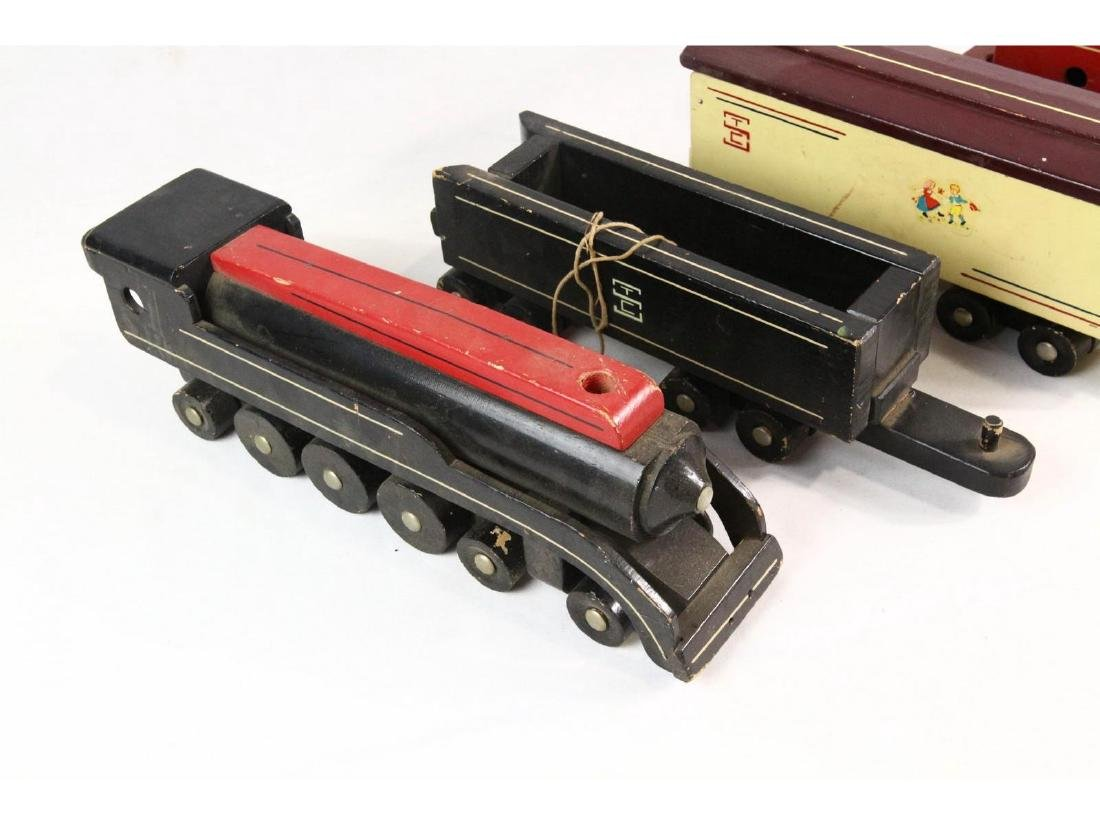 Seaver Wooden Toy Train - 2