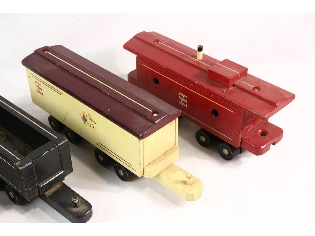 Seaver Wooden Toy Train - 3