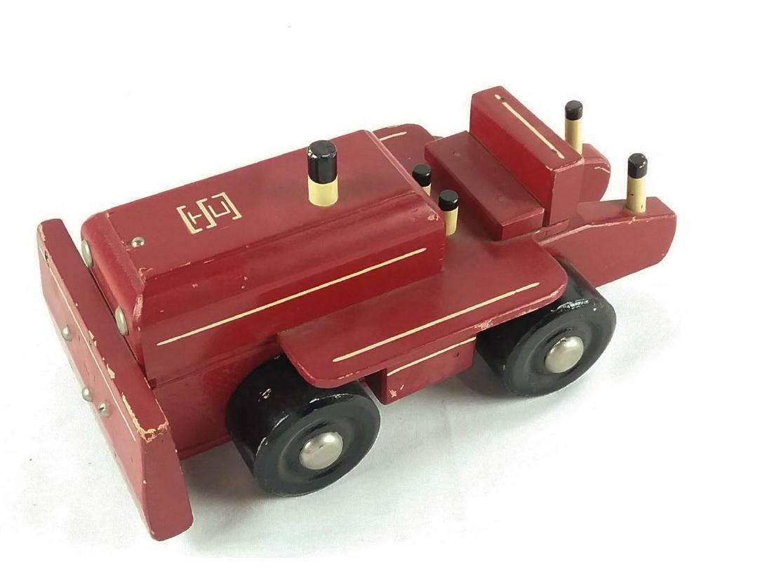Seaver Wooden Toy Bull Dozer