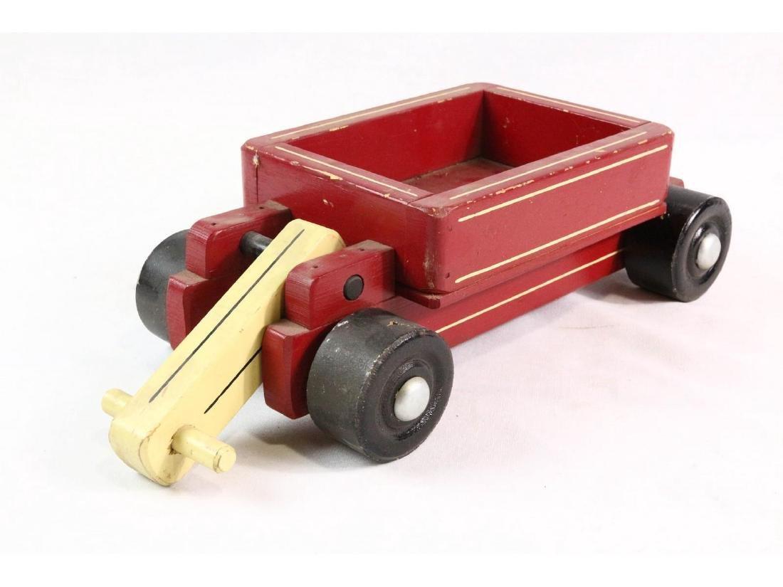Seaver Wooden Toy Wagon - 2