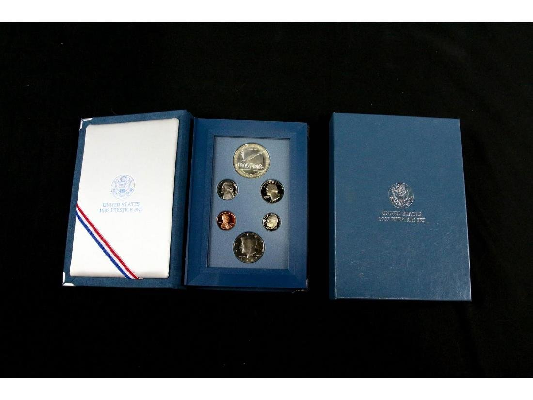 (2) United States Mint Prestige Uncirculated Sets - 2