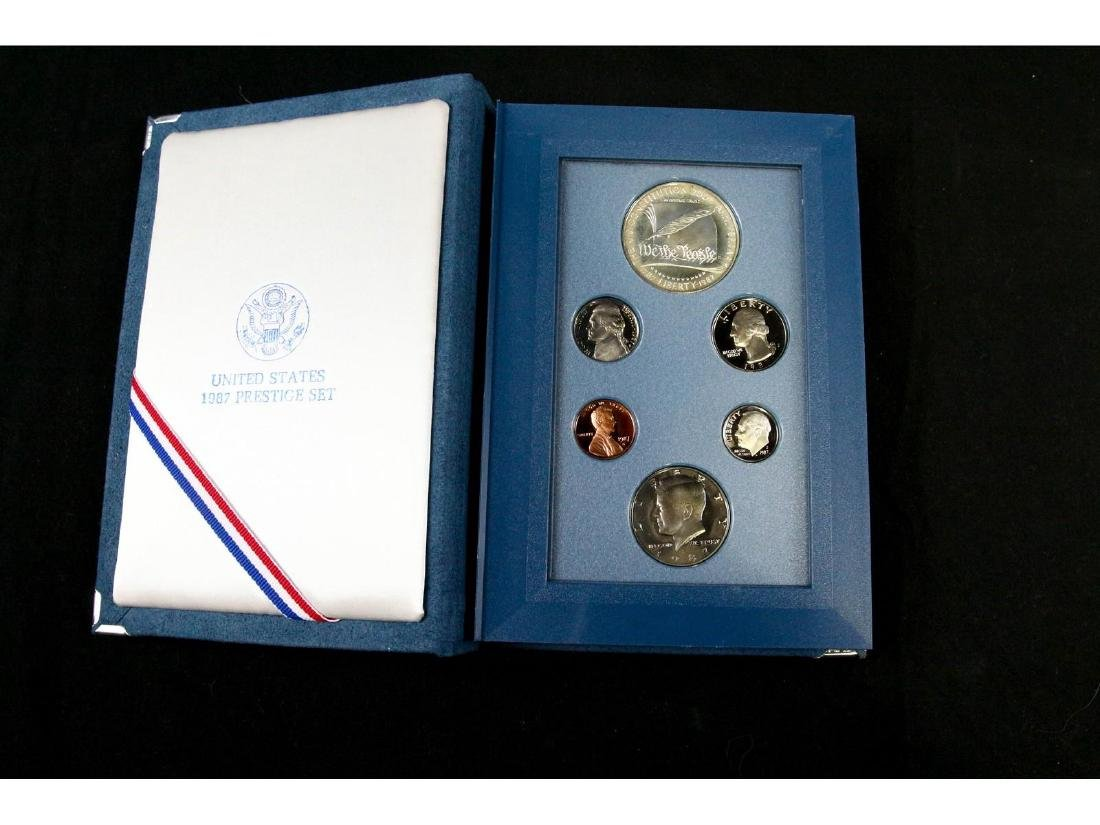 (2) United States Mint Prestige Uncirculated Sets - 4