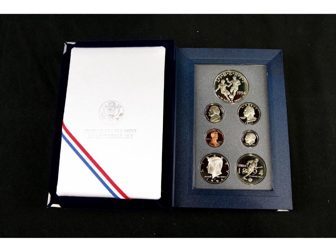 (4) United States Mint Prestige Uncirculated Sets - 5