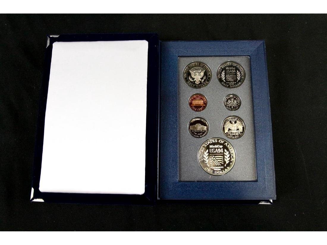 (4) United States Mint Prestige Uncirculated Sets - 6