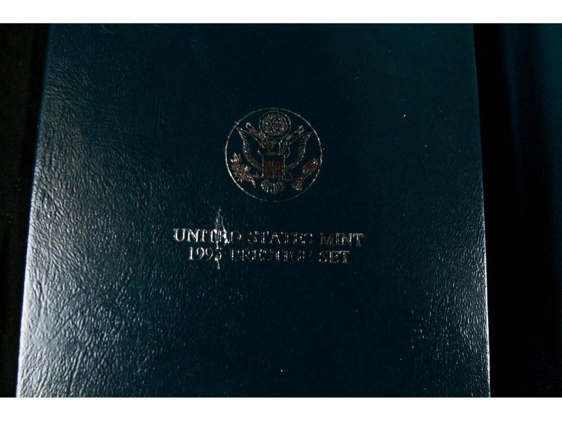 (4) United States Mint Prestige Uncirculated Sets - 9