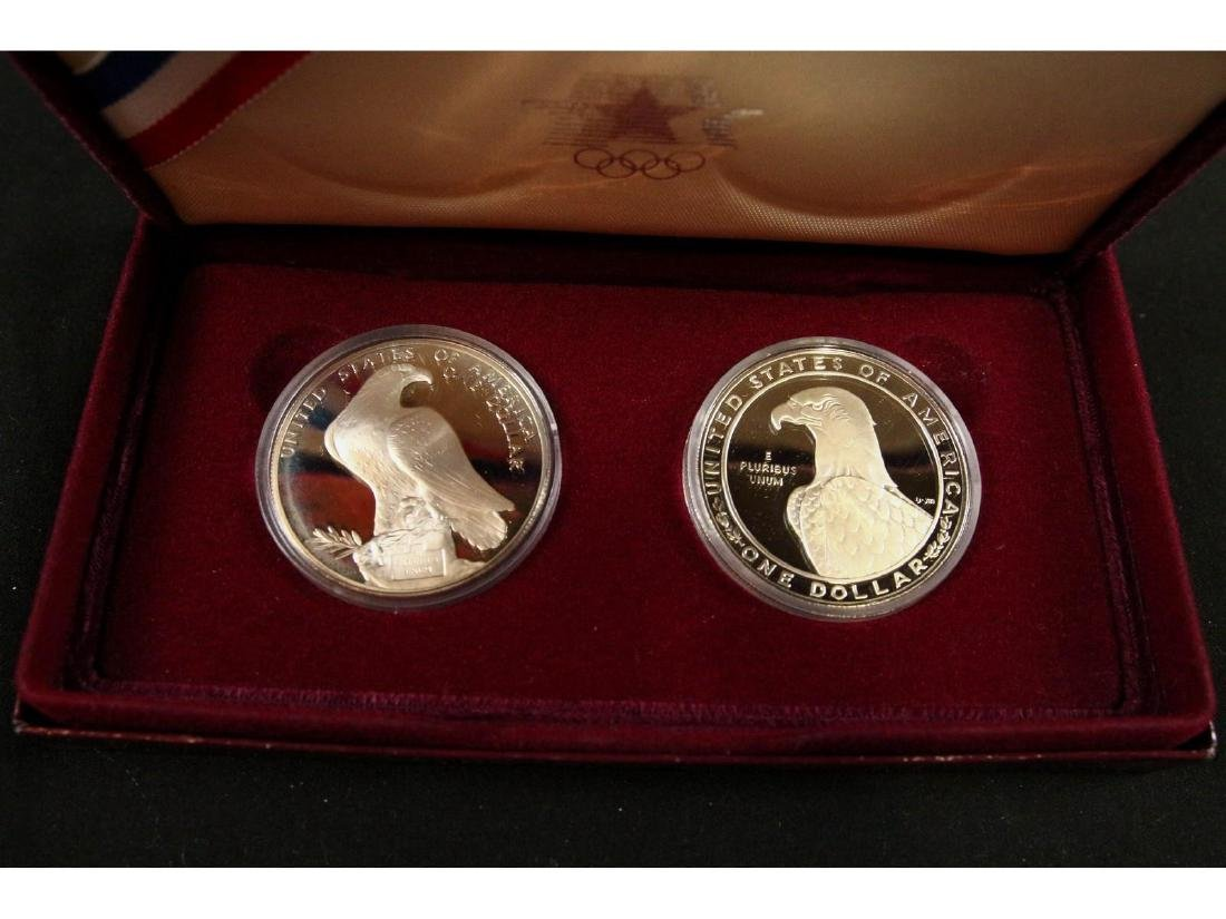 (5) United States Mint Silver Dollar Proofs - 4