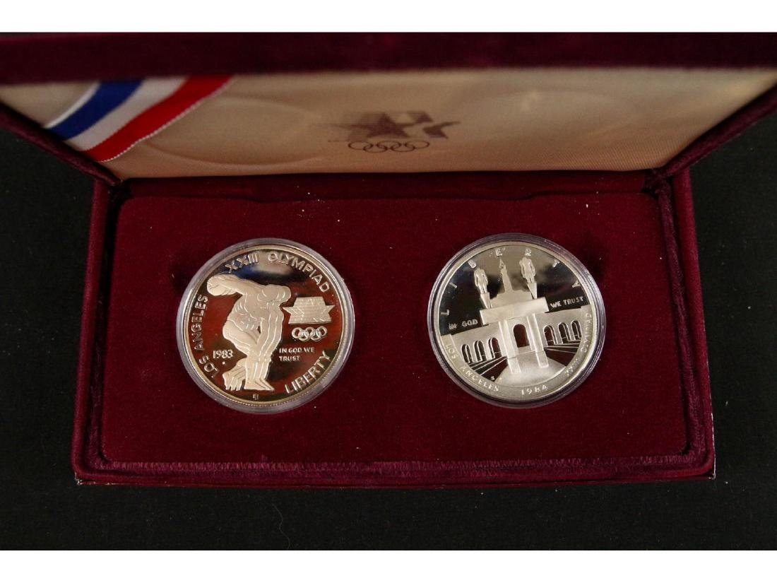 (5) United States Mint Silver Dollar Proofs - 9