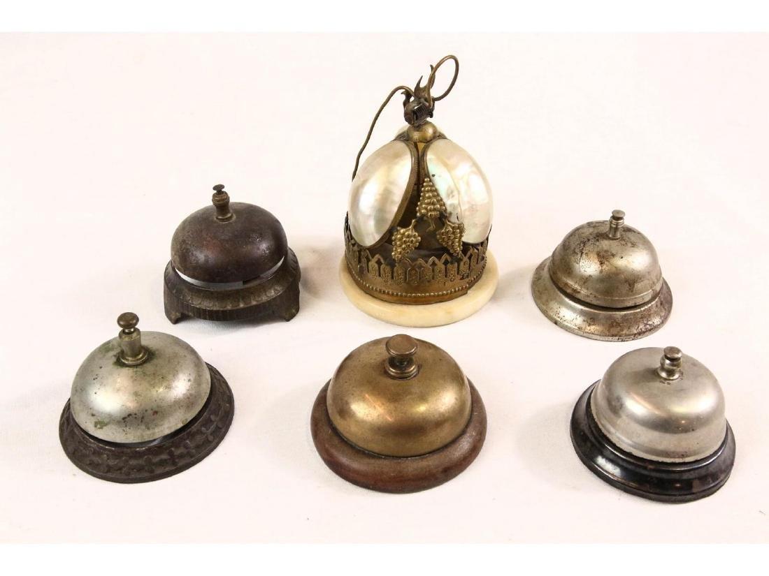 6 Hotel Style Bells