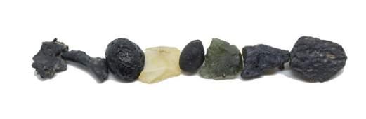 Tektite Impactite Lot Libyan Glass Moldavite
