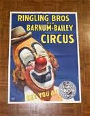 Ringling BrosBarnum  Bailey Circus Poster
