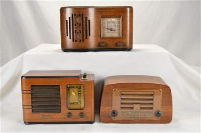 Air Chief, Emerson, Admiral Wood Radios