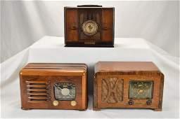 Zenith (2) & Universal Wood Radios