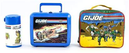 GI Joe Lunchbox & Thermos Lot 1992 & 1988