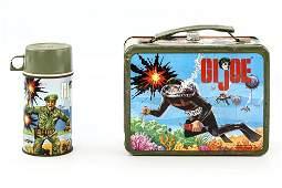 GI Joe Lunchbox & Thermos Lot 1967