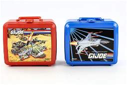 GI Joe Lunchbox Lot 1990 & 1992