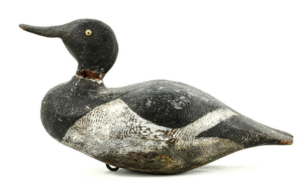 Bluebill Drake Duck Decoy