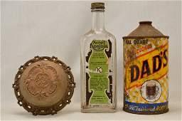 Vintage Bottle Can and Door Bell