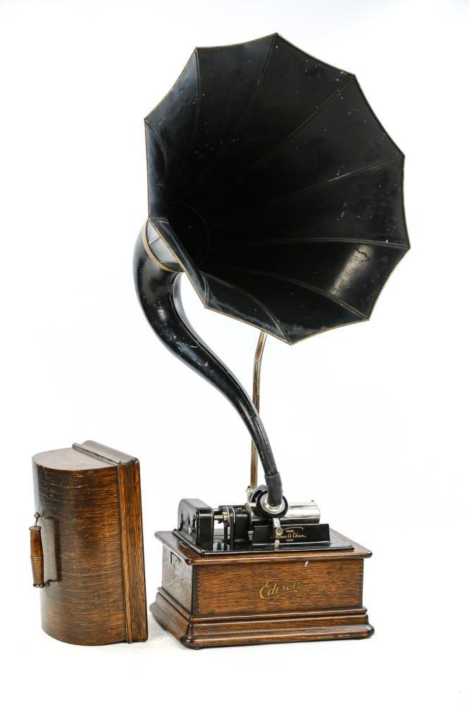Edison Standard Cylinder 2/4 Min Phonograph