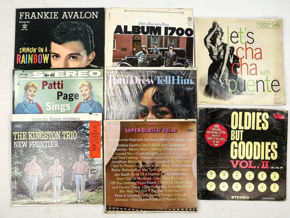 Lot of 9 Vinyl Records