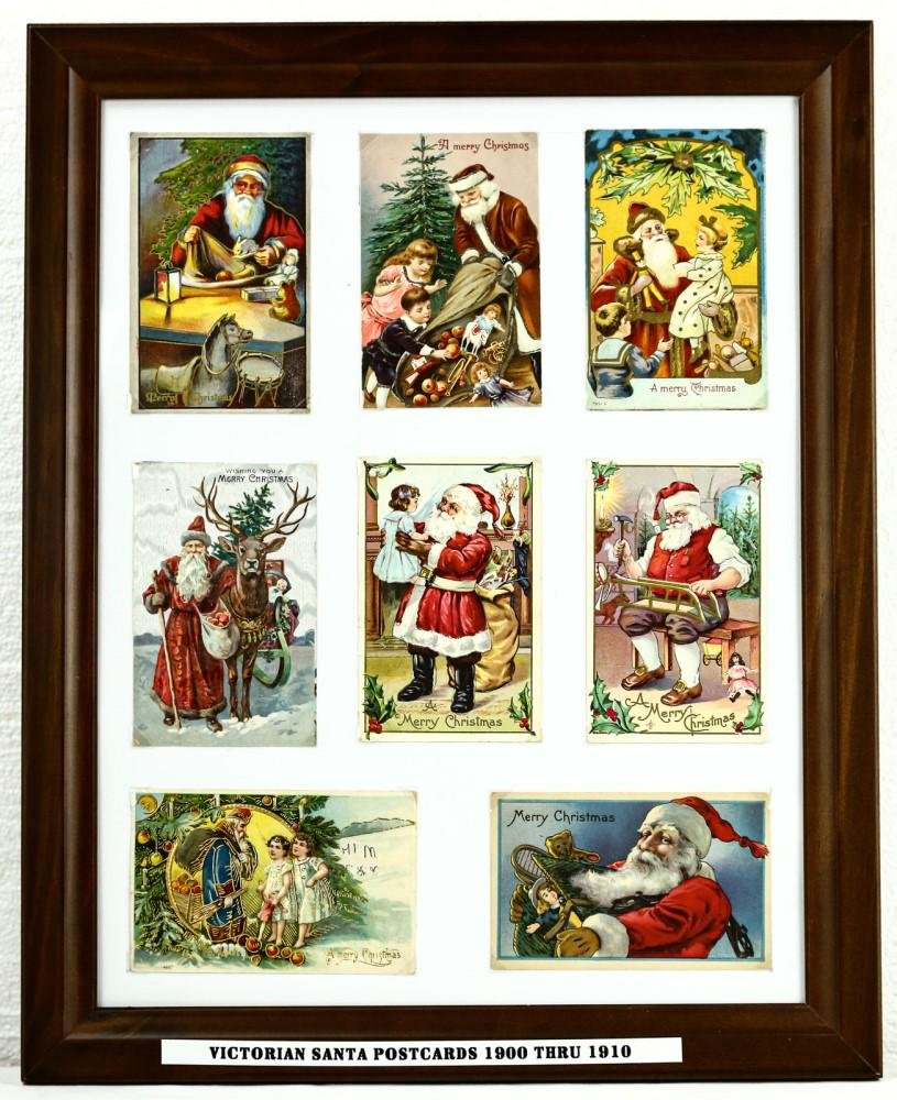 Lot of Victorian Christmas Cards