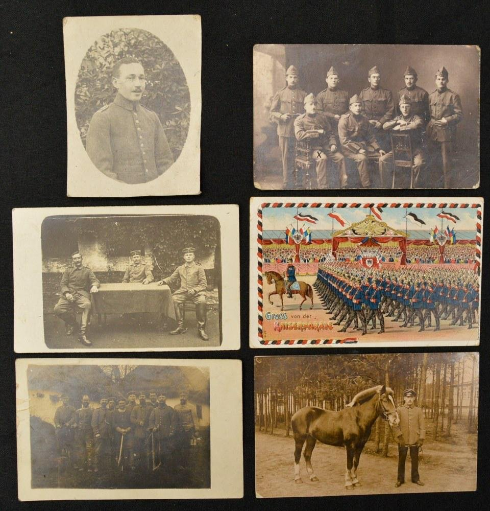 Lot of 6 WWI German Postcards